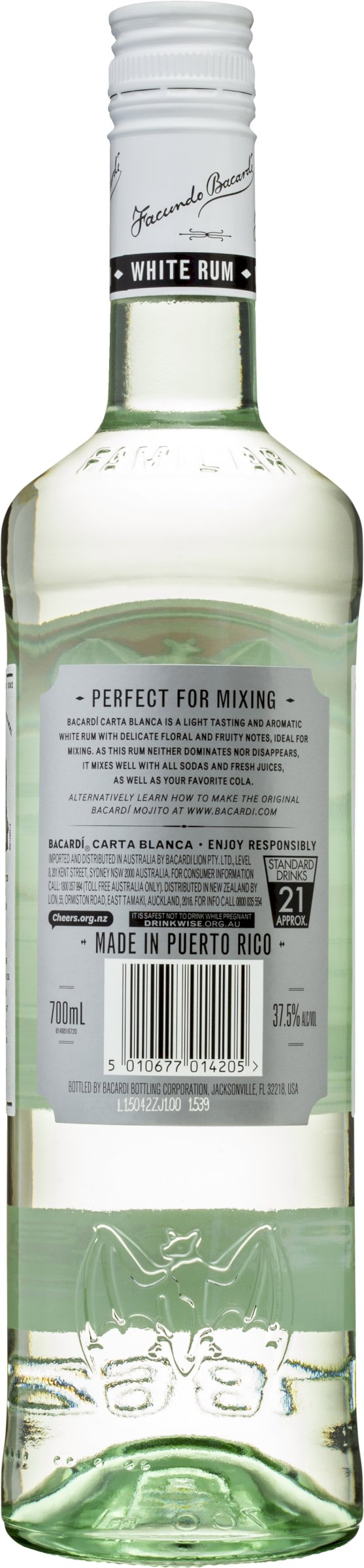 Bacardi Superior Rum 700Ml | Liquorland