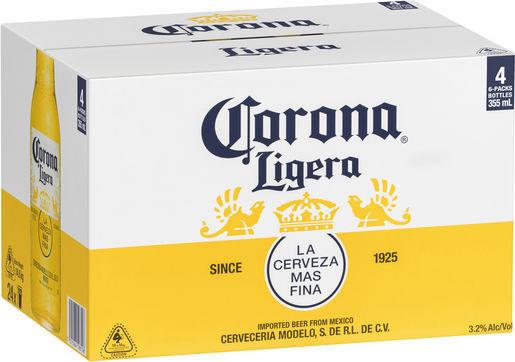 liquorland corona carton